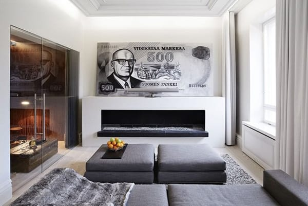 featured posts image for Conversion of bank into contemporary apartment in Finland