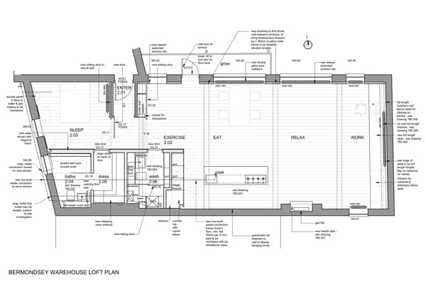 Bermondsey Warehouse Loft-Form Design Architecture-20-1 Kindesign
