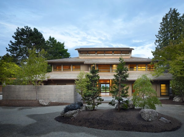 featured posts image for Two-story lakefront property in Seattle: Engawa House