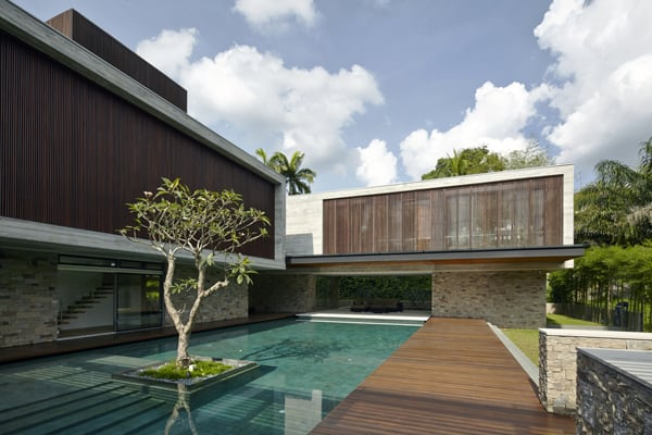 featured posts image for JKC2 house immersed in the tropical refuge of Singapore