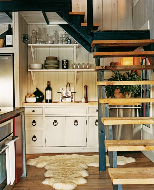 featured posts image for 55 Amazing space-saving kitchens under the stairs