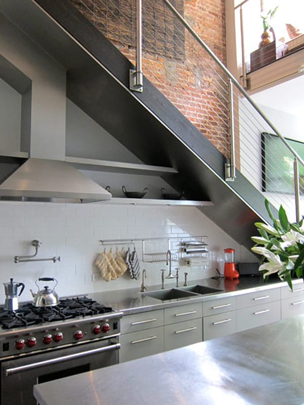 Kitchen Under Stairs Storage ~ Amazing space saving kitchens under the stairs