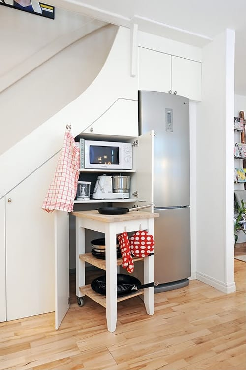 Kitchens Under The Stairs 40 1 Kindesign