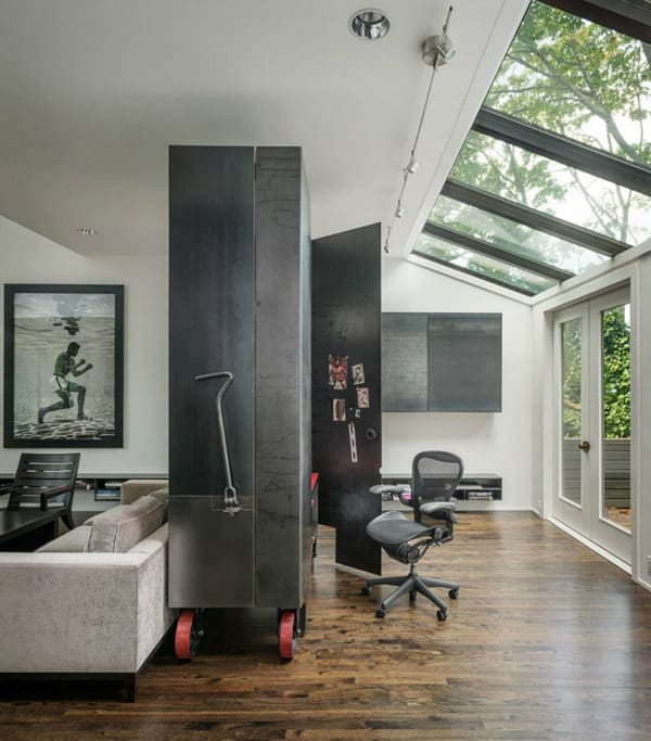 Montana Guest Retreat Gets A Fabulous Makeover For The: Striking Modern Renovation Of Kuruma House In Seattle