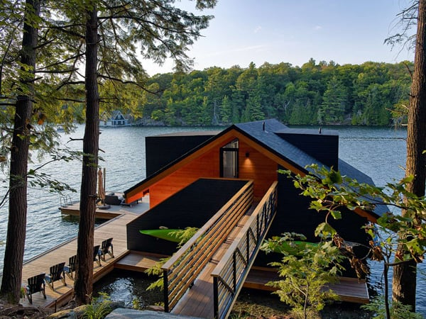 featured posts image for Lake Joseph Boathouse Design in Perry Sound, Canada