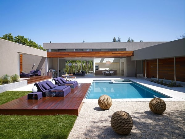 featured posts image for Modern Menlo Park Residence with warm and inviting design