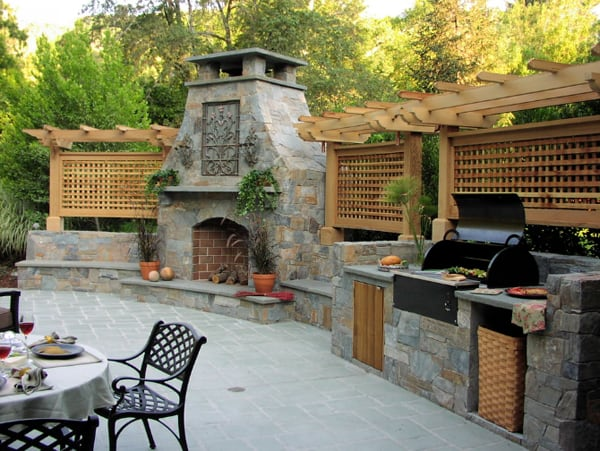Outdoor Kitchen Designs-08-1 Kindesign