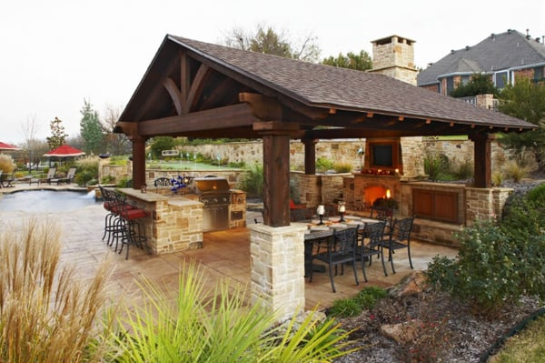Exceptional Outdoor Kitchen Designs 60 1 Kindesign