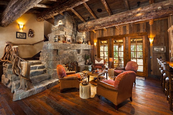 Rustic Living Rooms 55 1 Kindesign