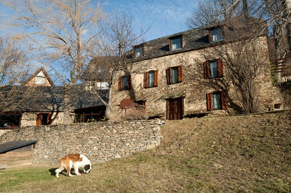 featured posts image for Renovated farm compound in the Spanish Pyrenees