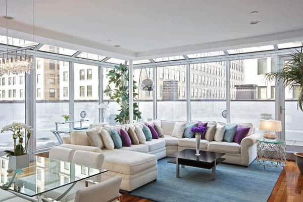 TriBeCa Penthouse-Marie Burgos Design-04-1 Kindesign