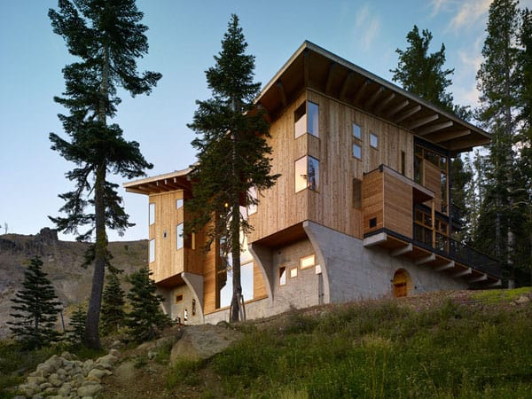 featured posts image for Spectacular ski cabin in Sugar Bowl: Crow's Nest Residence