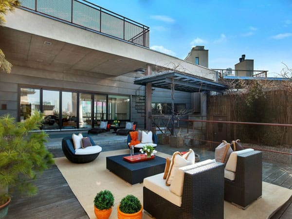 featured posts image for Spectacular duplex penthouse on Greenwich Street, New York