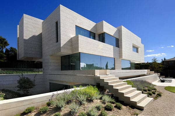 House in Las Rozas-A-cero Architects-01-1 Kindesign