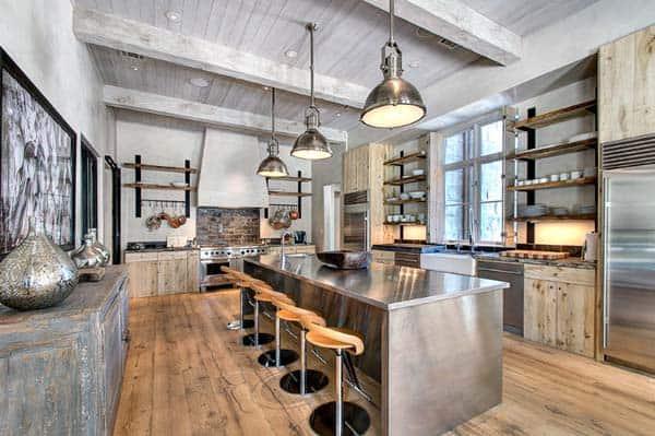 Industrial Kitchen Designs-16-1 Kindesign