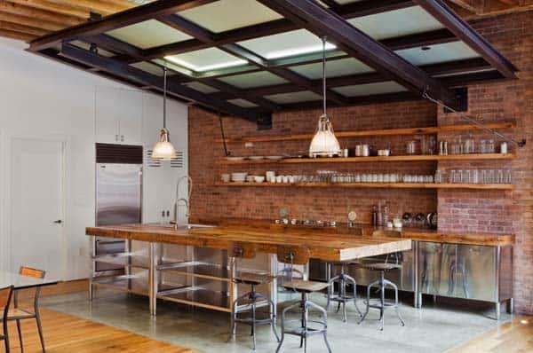 Industrial Kitchen Designs-37-1 Kindesign