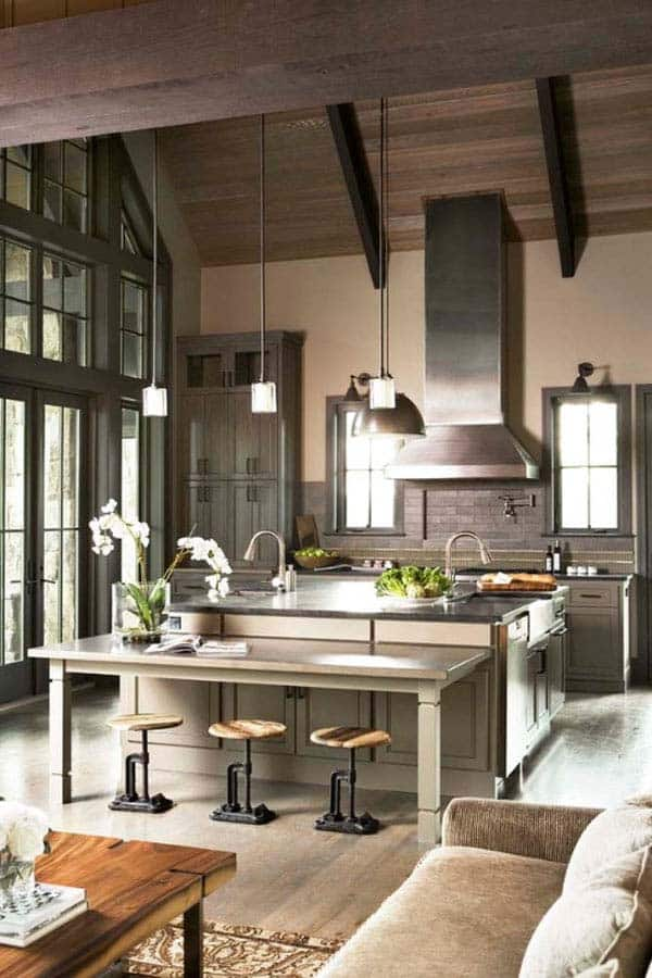 Industrial Kitchen Designs 40 1 Kindesign