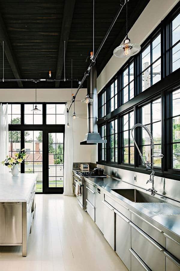 Industrial Kitchen Designs-44-1 Kindesign