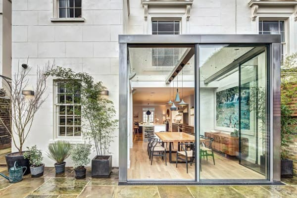 featured posts image for Little Venice house extension by DOS Architects