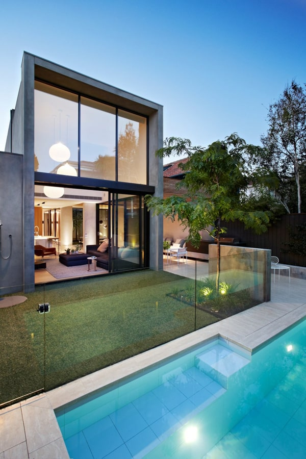 featured posts image for Natural materials integrated in modern property: Oban House