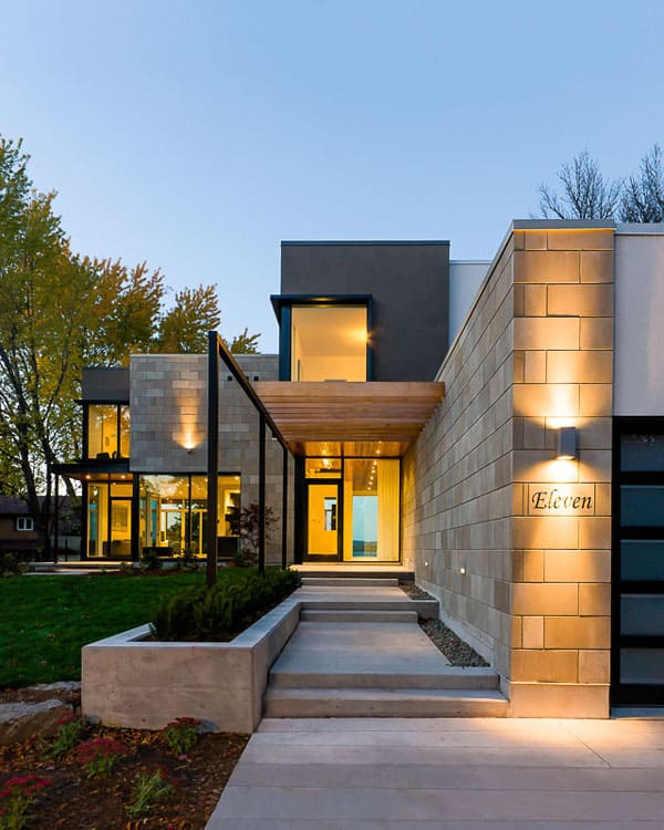 featured posts image for Modern indoor-outdoor interplay: Ottawa River House