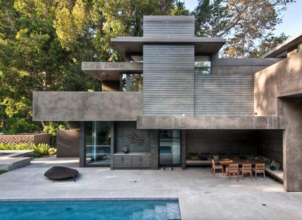 Rustic Canyon House-Chu Gooding Architects-07-1 Kindesign