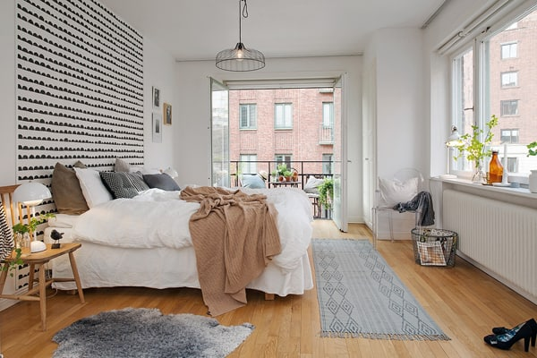 featured posts image for Compact apartment in Stockholm displaying functional design
