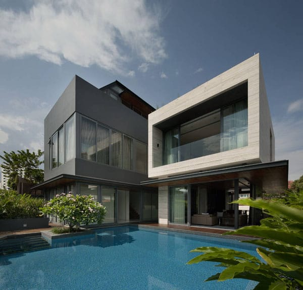featured posts image for Modern Travertine Dream House in Singapore