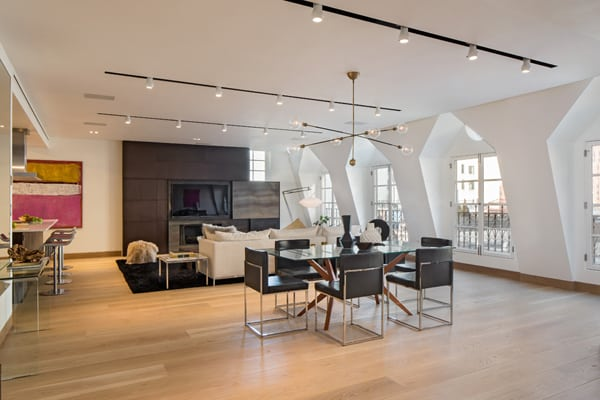 Tribeca Penthouse-Turett Collaborative Architects-02-1 Kindesign