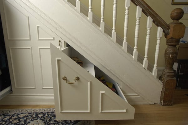 Under Stairs Storage Ideas-34-1 Kindesign