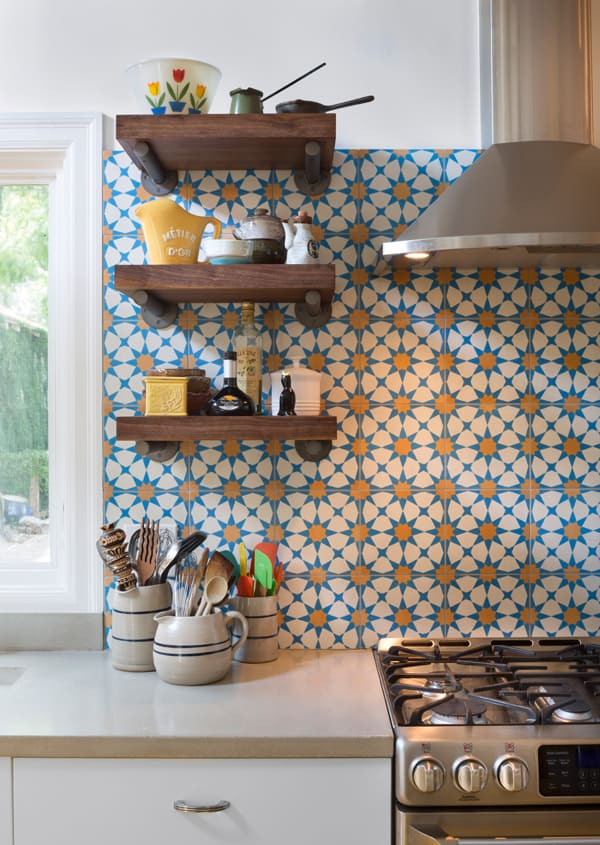 Cement Tile Kitchen Backsplash-011-1 Kindesign
