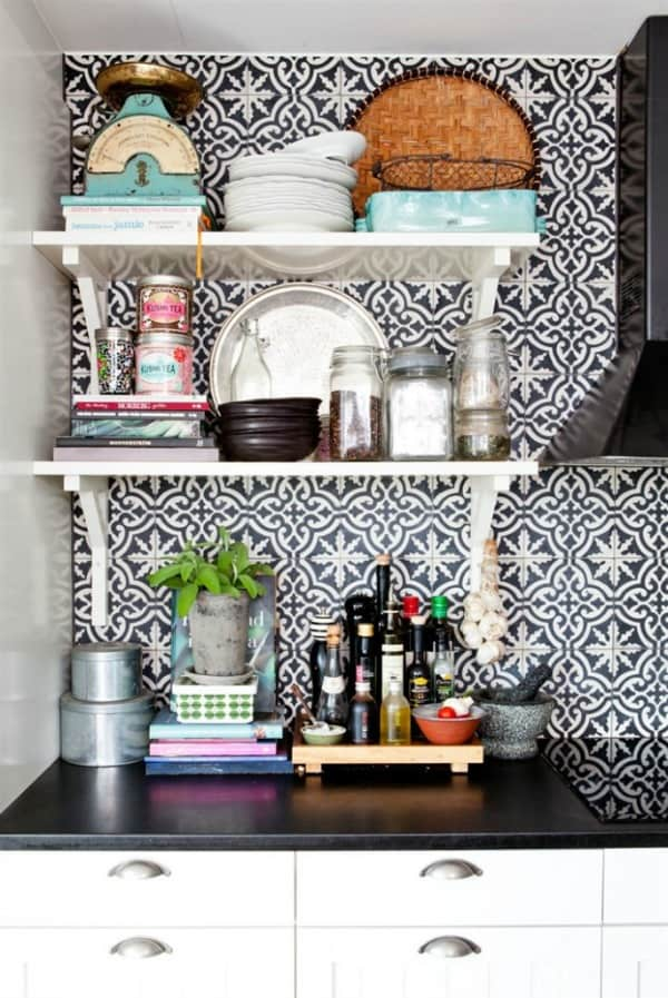 Cement Tile Kitchen Backsplash-03-1 Kindesign