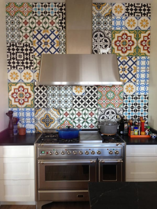 Cement Tile Kitchen Backsplash-04-1 Kindesign