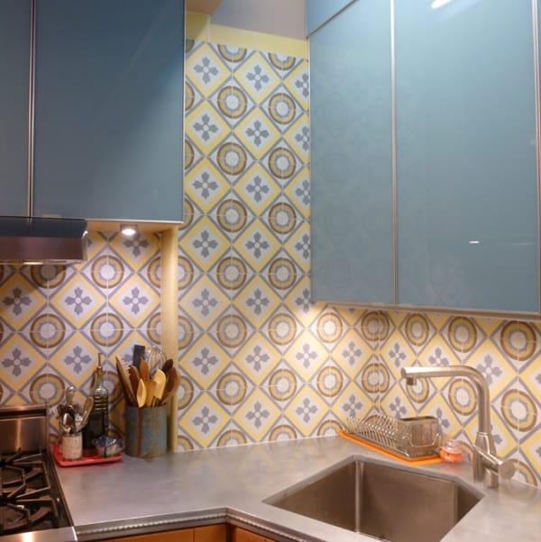 Cement Tile Kitchen Backsplash-05-1 Kindesign