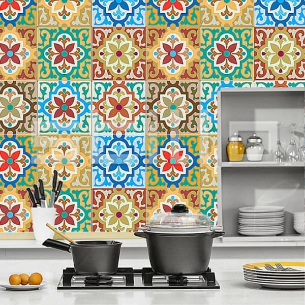 Cement Tile Kitchen Backsplash-09-1 Kindesign