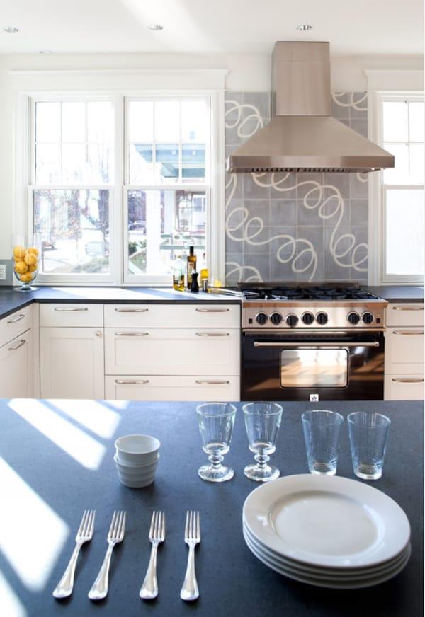 Cement Tile Kitchen Backsplash-12-1 Kindesign