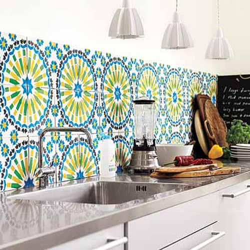 Cement Tile Kitchen Backsplash-13-1 Kindesign