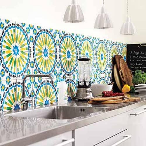 Cement Tile Kitchen Backsplash-13-1 Kindesign