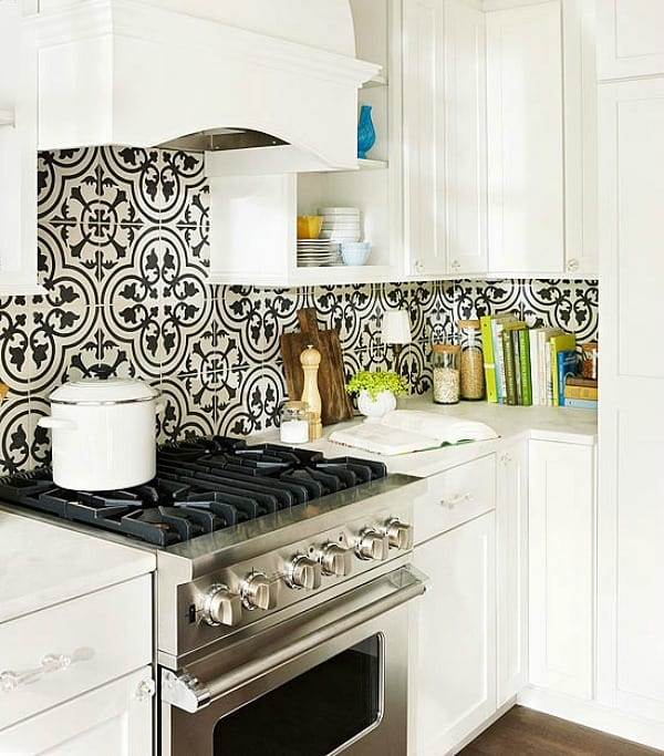 Cement Tile Kitchen Backsplash-14-1 Kindesign