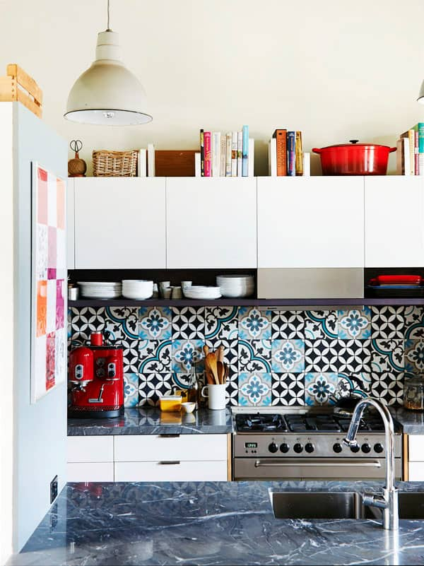 Cement Tile Kitchen Backsplash-15-1 Kindesign