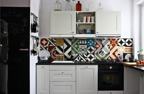 Cement Tile Kitchen Backsplash-16-1 Kindesign
