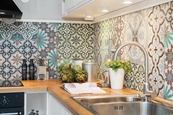 Cement Tile Kitchen Backsplash-19-1 Kindesign