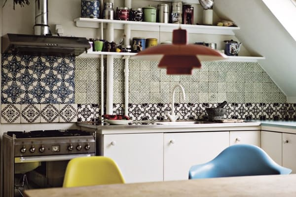 Cement Tile Kitchen Backsplash-21-1 Kindesign