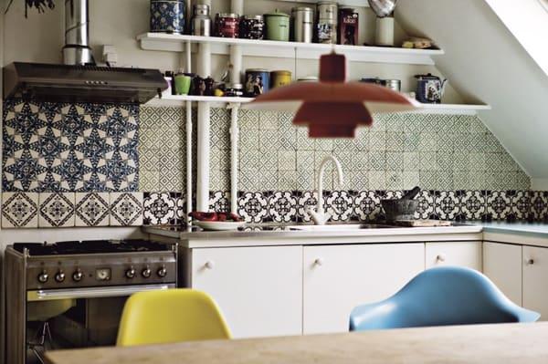 Cement Tile Kitchen Backsplash-21-1 Kindesign