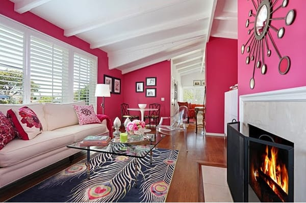 Colorful Living Room Design Ideas-06-1 Kindesign