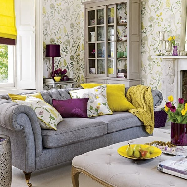 Colorful Living Room Design Ideas-11-1 Kindesign