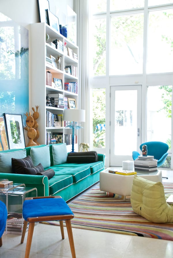 Colorful Living Room Design Ideas-15-1 Kindesign & 50 Energetic and colorful living room design ideas