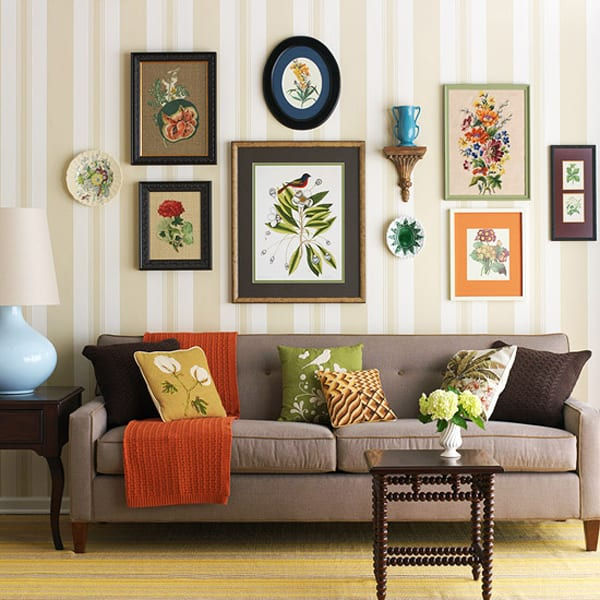 Colorful Living Room Design Online: 50 Energetic And Colorful Living Room Design Ideas