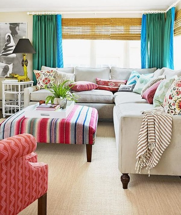 Colorful Living Room Design Ideas-27-1 Kindesign
