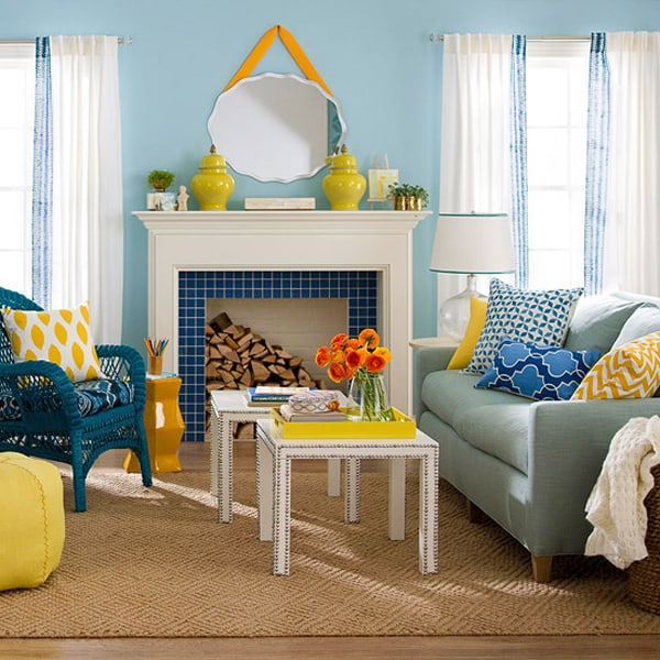 Colorful Living Room Design Ideas-35-1 Kindesign